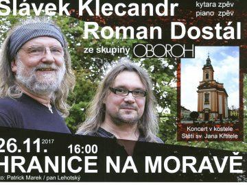Slávek Klecandr a Roman Dostál