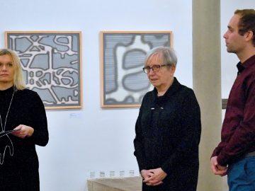 Jaroslava Severová – JMÉNO, ZNAK / fotogalerie / Vernisáž výstavy Jaroslavy Severové - JMÉNO, ZNAK, foto: Jiří Necid