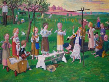 Jan Knap – obrazy / fotogalerie / Výstava obrazů Jana Knapa, foto: Jiří Necid