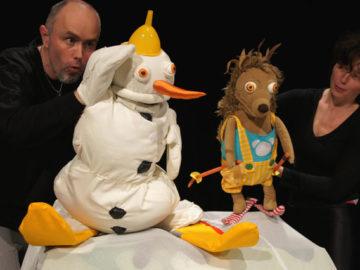 Ježek a sněhulák