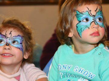 Mrazivý dětský karneval