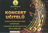 Koncert učitelů ZUŠ Hranice