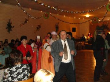 Sousedský ples Horní Újezd