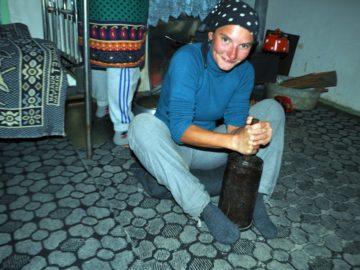 Pěšky přes Kavkaz – od moře k moři / fotogalerie / V Azerbajdžánu