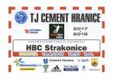 TJ Cement Hranice – HBC Strakonice