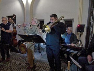 Hranická muzejní noc / fotogalerie / Hranická muzejní noc - vystoupení skupiny Olomoucký Dixieland Jazz Band, foto: Jiří Necid