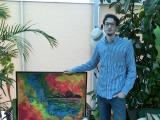 Vernisáž: Výstava obrazů Jakuba Čočka – Barevný svět