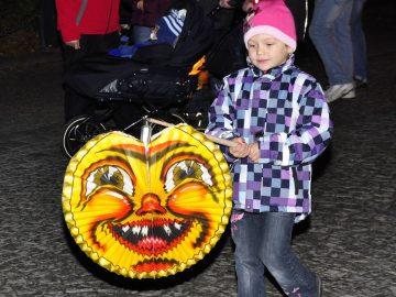 Tradiční lampiónový průvod
