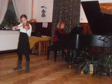 Koncert žáků ZUŠ