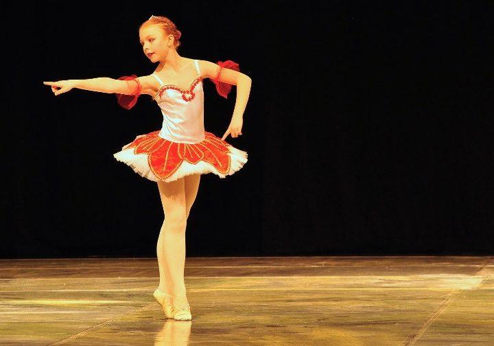 Závěrečné vystoupení tanečního oboru