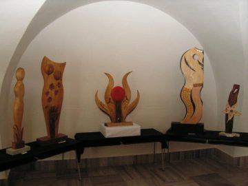 Milan Sanetřík: Dřevořezby