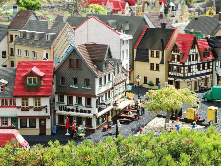 Výstava legového městečka