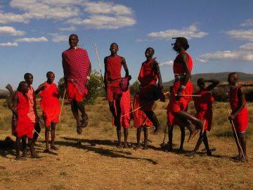 Afrika na zámku