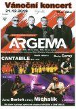 Vánoční koncert: Argema