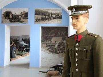 Otevření stálé expozice posádky Hranice