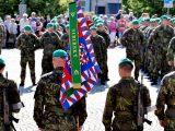 Slavnostní nástup jednotek 7. mechanizované brigády