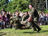 Ukázky vojenské techniky, výzbroje a výcviku