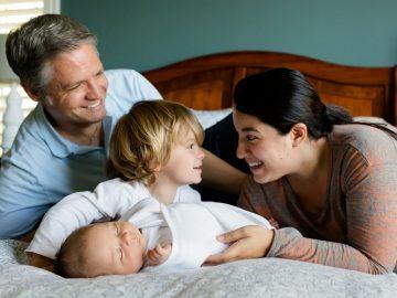 Šťastní rodiče, šťastné děti