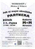 Workshop: Jak si najít skvělého partnera