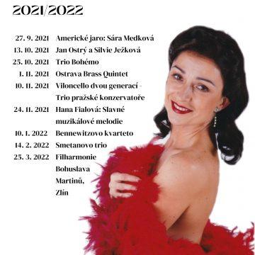 Kruh přátel hudby / fotogalerie / Plakát KPH 2021-2022