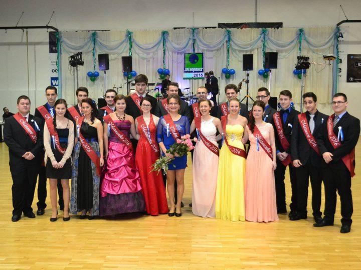 Maturitní ples Střední průmyslové školy Hranice