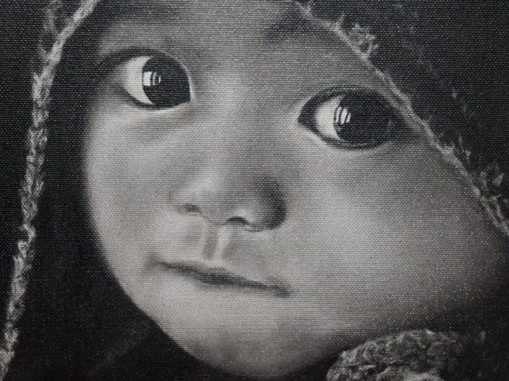 Kurz malování technikou Boba Rosse