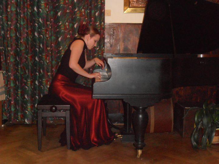 Klavírní recitál Lucie Langerové