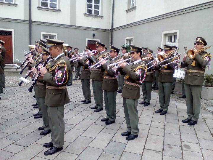 Koncert Vojenské hudby Olomouc