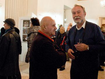 Milan Kaštovský – Osmdesát / fotogalerie / Vernisáž výstavy Milana Kaštovského - Osmdesát, foto: Jiří Necid