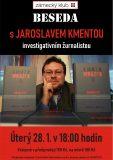 Beseda s reportérem Jaroslavem Kmentou