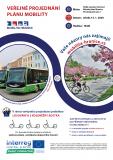 Veřejné projednání plánu mobility