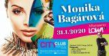 City Club: Monika Bagárová – ZRUŠENO