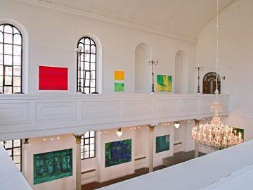 František Hodonský – Přiznaná krajina II / fotogalerie / Výstava Františka Hodonského v Galerii Synagoga, foto: Jiří Necid
