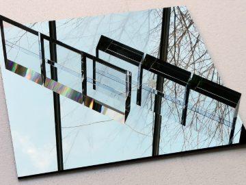 Otevření: Václav Cigler – Skleněné rozvrhy / fotogalerie / Výstava Václava Ciglera v Galerii Synagoga, foto: Michal Motyčka