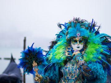 Výstava fotografií: Benátský karneval 2020