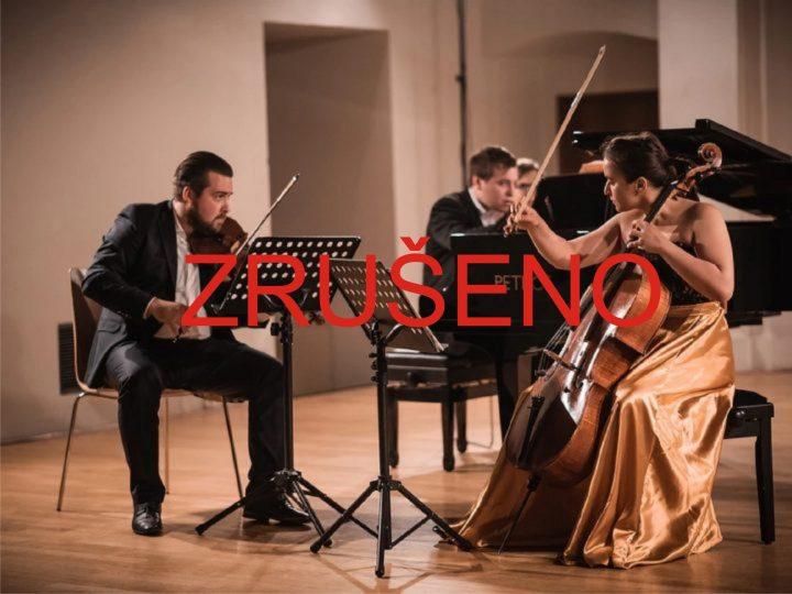 ZRUŠENO: Trio Bohémo