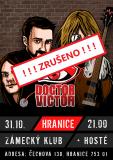 KONCERT ZRUŠEN: Doctor Victor + hosté