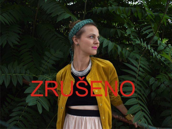 ZRUŠENO: Bára Zmeková s kapelou