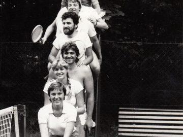Vernisáž: Tenis / fotogalerie / Tenis v Hranicích v roce 1981, foto: sbírky hranického muzea
