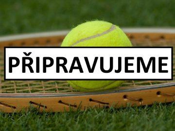 OTEVŘENÍ: Tenis