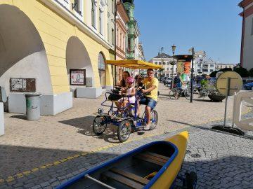 Oslavy města Hranice / fotogalerie / Projížďka v rikše, foto: Ivana Žáková